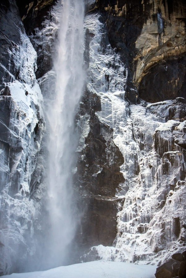 Frozen Bridal Veil