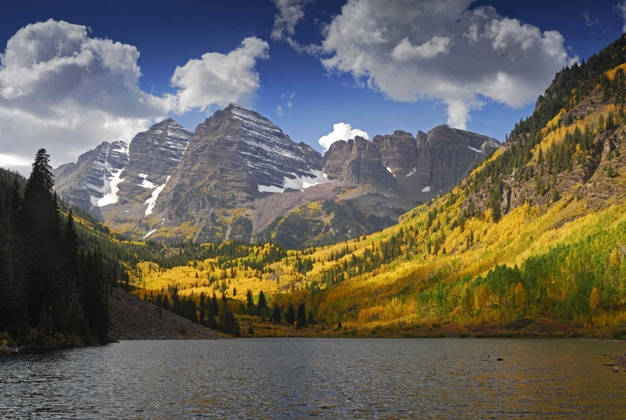Maroon Bells Panoramic
