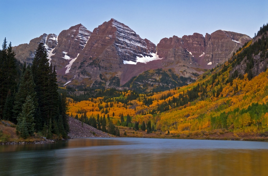 Maroon Bells Morning Twilight