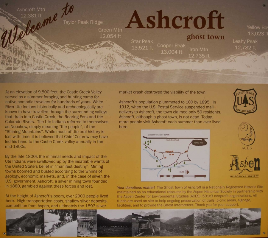 Ashcroft Ghost Town +