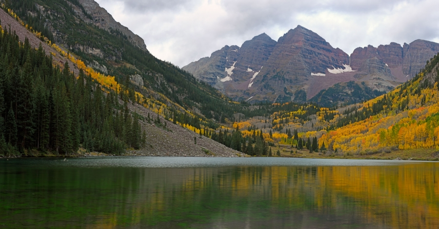 Maroon Bells Panoramic +